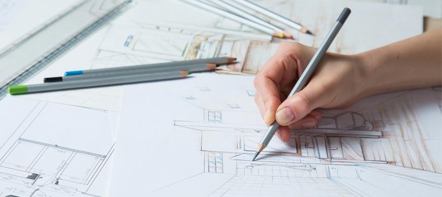 de Koning Creaties - omgevingsvormgevers - Over ons - Interieur schetsen
